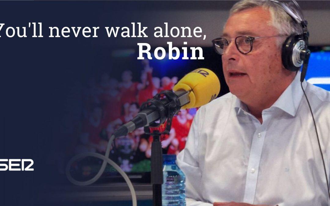 Fallece Michael Robinson, la voz del fútbol español