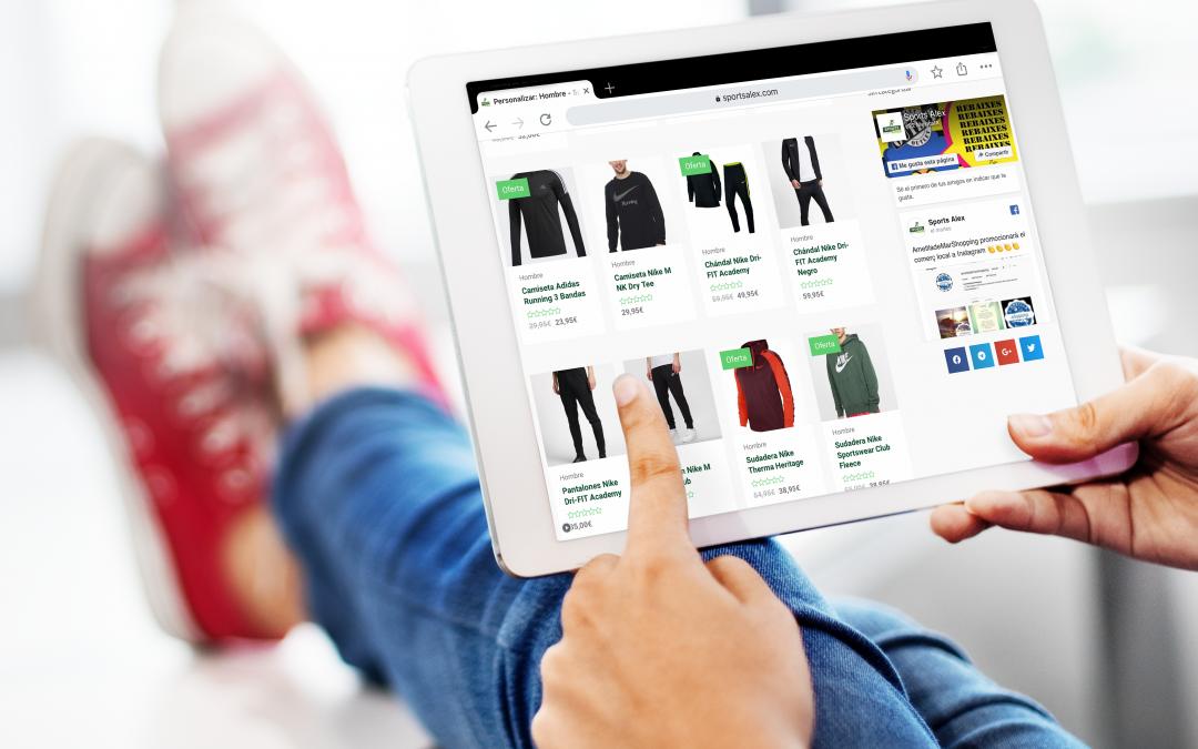 Sports Alex estrena nueva tienda online de la mano de Nogomet Comunicación