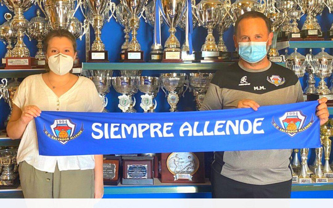 Nogomet Comunicación, patrocinador oficial de Salvador Allende UD