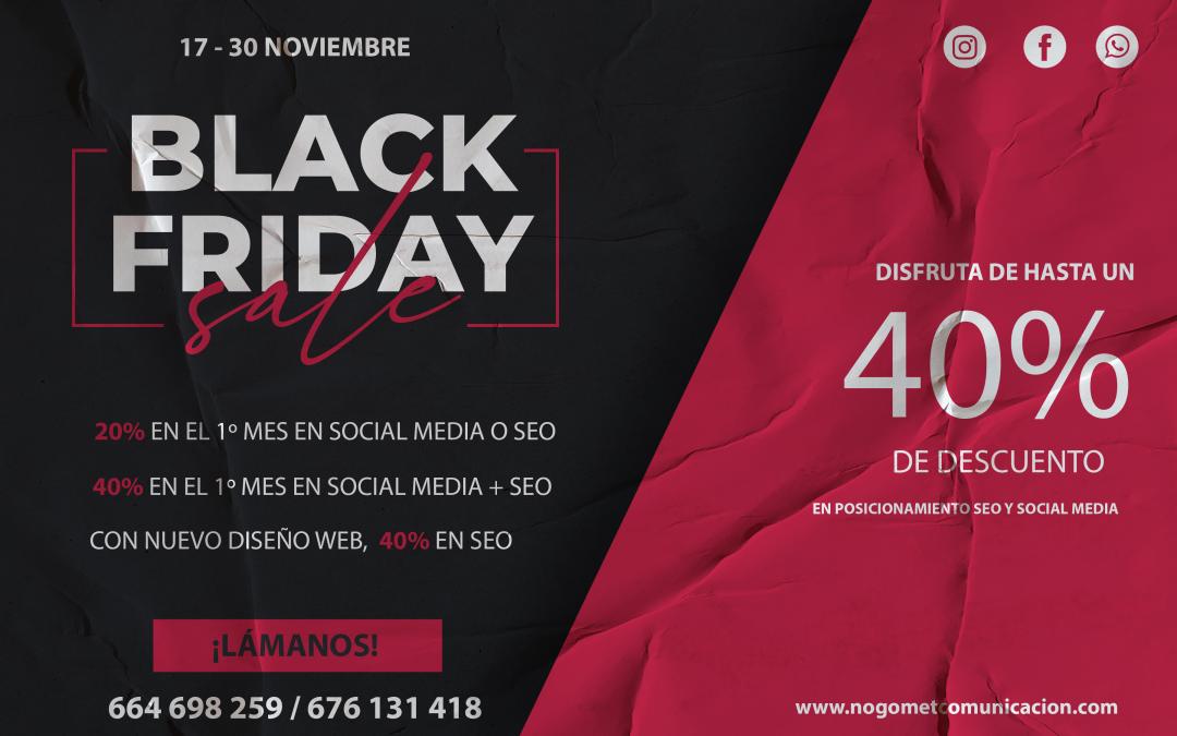 El Black Friday llega a Nogomet Comunicación: todas las ofertas que no te puedes perder