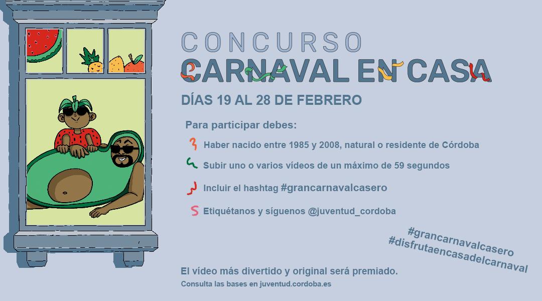Concurso gran carnaval en casa