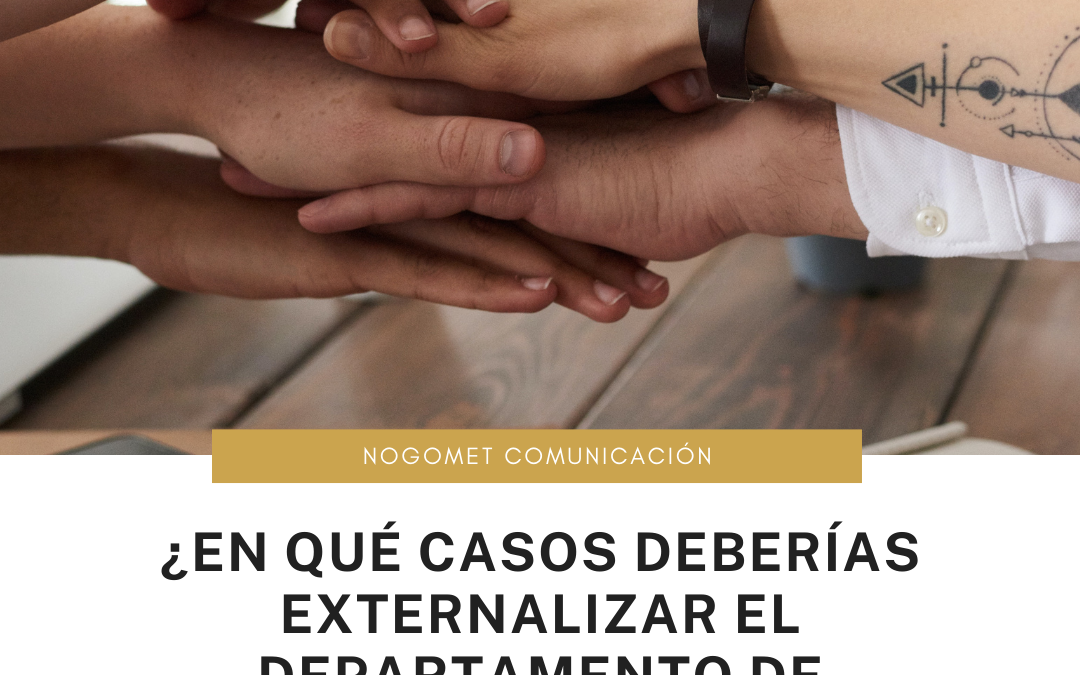 Departamento de marketing: ¿Cuándo externalizarlo?