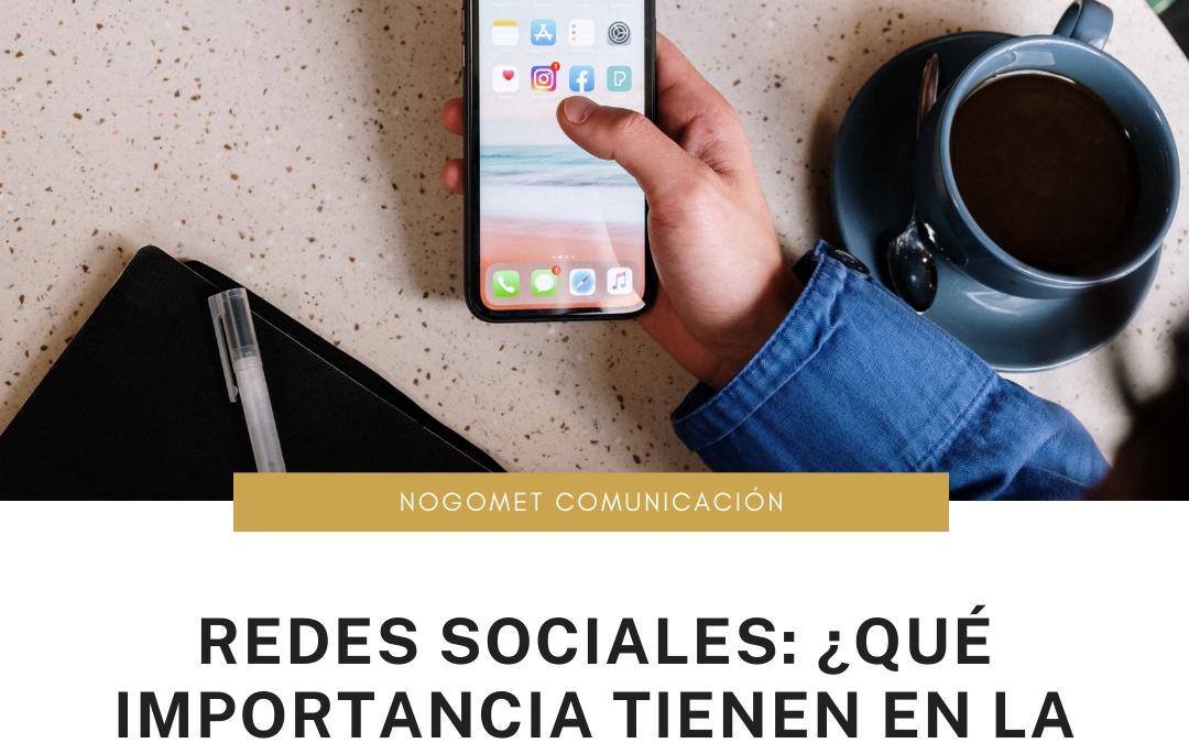 Redes sociales. ¿Qué importancia tienen en la sociedad?