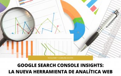 Google Search Console Insights: la nueva herramienta de analítica web